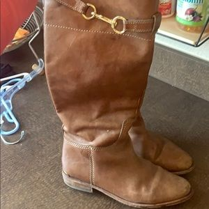 Worn coach riding boots - still a lot of life